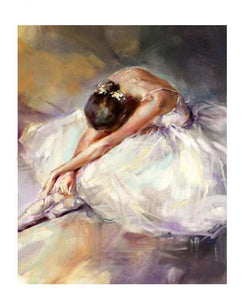 40cm 5D Diamond Painting Dancers for Adult Ballerina Paint with Diamonds Full Drill Art Crystal DIY Embroidery Rhinestone Decor Craft by Number Kits 30