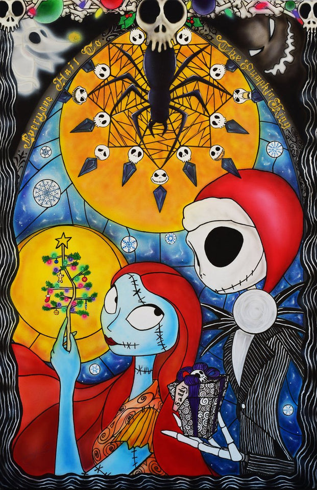 The Nightmare Before Christmas Marry Diamond Painting Kit - DIY