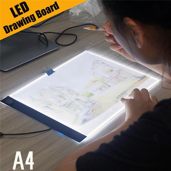 Ultra-Thin A4 LED Light Box (Dimmable)