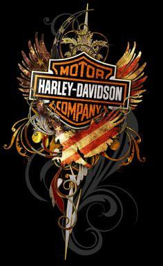 Harley Motorcycle Fire Diamond Painting Kit - DIY