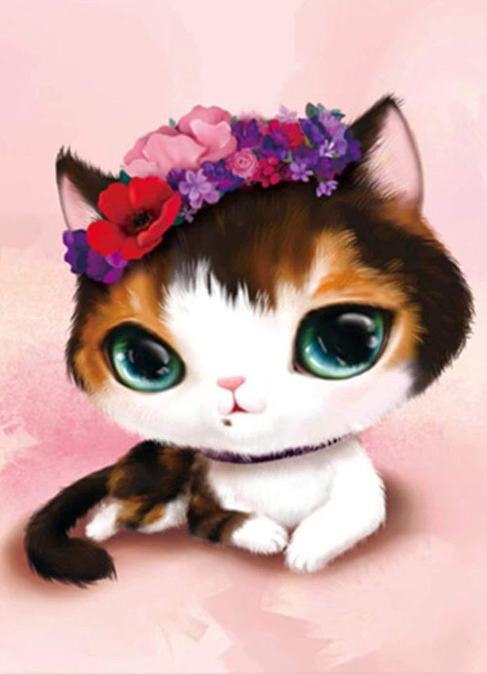 5d Cat Diamond Painting Kit Premium-15