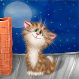 5d Cat Diamond Painting Kit Premium-20
