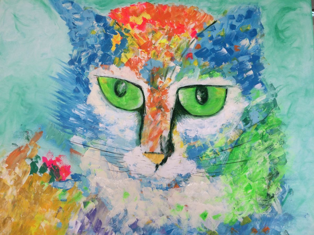 5d Cat Diamond Painting Kit Premium-32