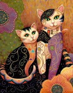 5d Cat Diamond Painting Kit Premium-57