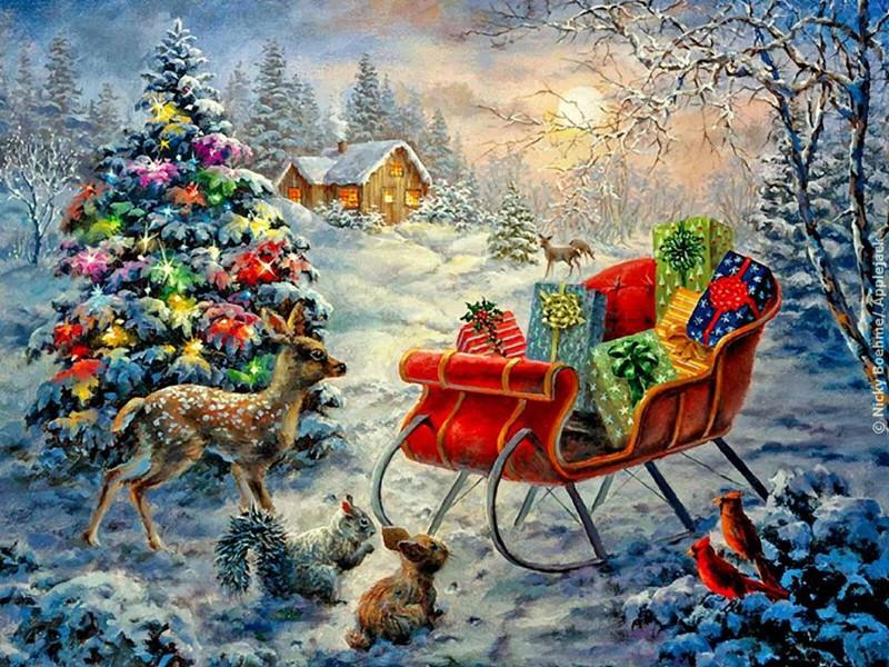 Christmas Diamond Painting Kit - DIY Christmas-26