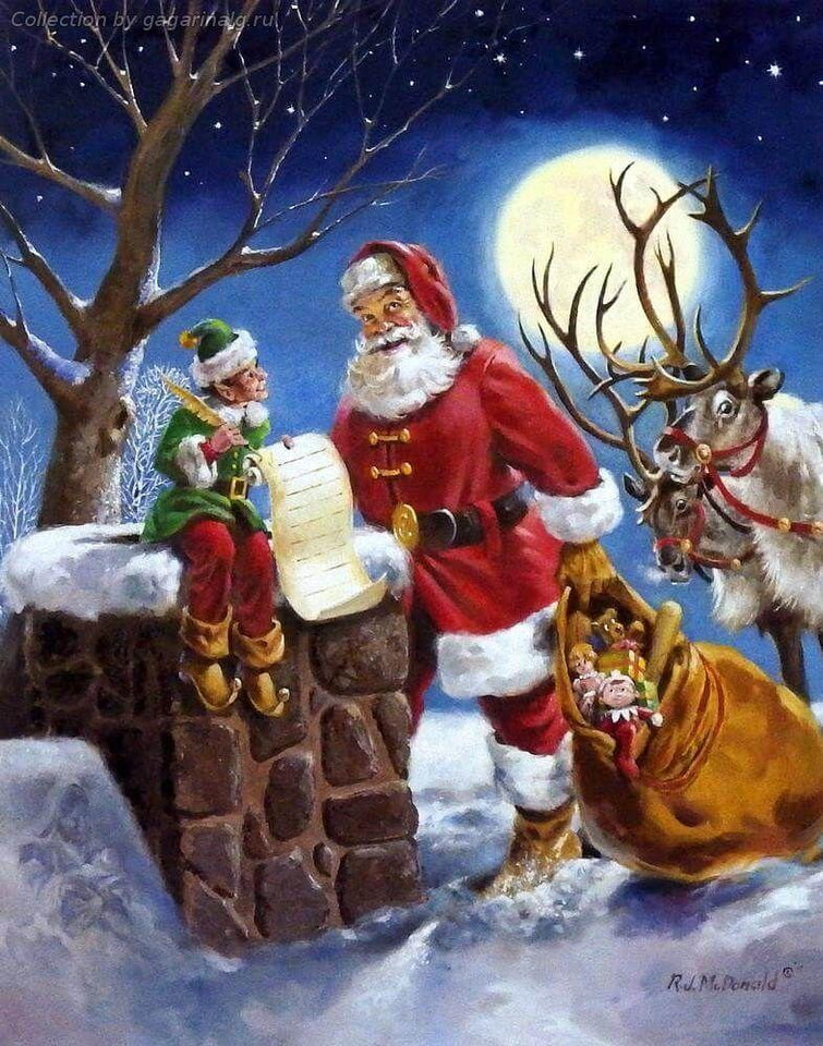 Christmas Diamond Painting Kit - DIY Christmas-34