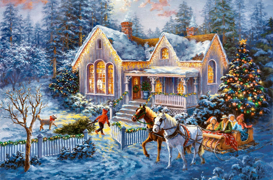 Christmas Diamond Painting Kit - DIY Christmas-37