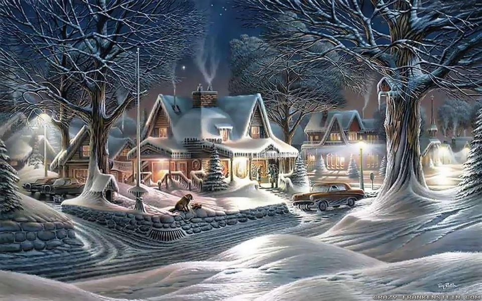 Christmas Diamond Painting Kit 5D - DIY Season 2-46