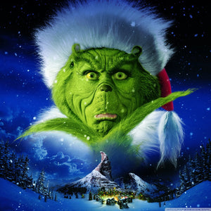 Grinch Christmas Night Diamond Painting Kit - DIY