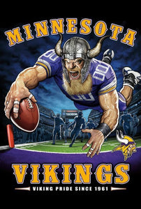 Minnesota Vikings Diamond Painting Kit - DIY