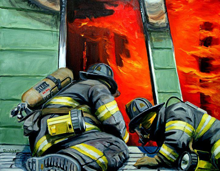 5d Fireman Firefighter Diamond Painting Kit - Premium-1