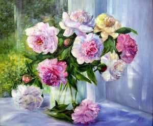 Flower Diamond Painting Kit - DIY Flower-40