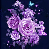Flower Diamond Painting Kit - DIY Flower-66