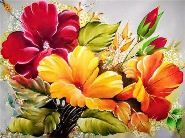 Flower Diamond Painting Kit - DIY Flower-67