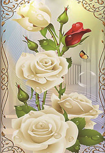 Flower Diamond Painting Kit - DIY Flower-7