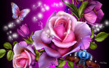 Flower Diamond Painting Kit - DIY Flower-81