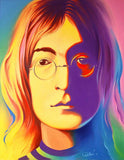 John Lennon Full Colors Diamond Painting Kit - DIY