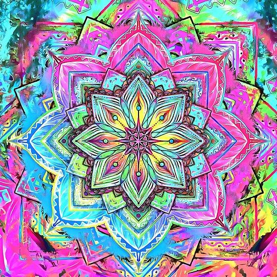 Mandala Diamond Painting Kit - DIY Mandala-24