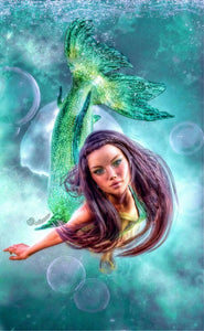 Mermaid Diamond Painting Kit - DIY Mermaid-9