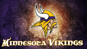 Minnesota Vikings Colors Diamond Painting Kit - DIY