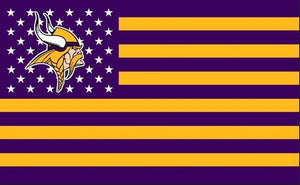 Minnesota Vikings Flag Diamond Painting Kit - DIY