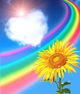 Rainbow Flowers Diamond Painting Kit - DIY Rainbow Flowers-7