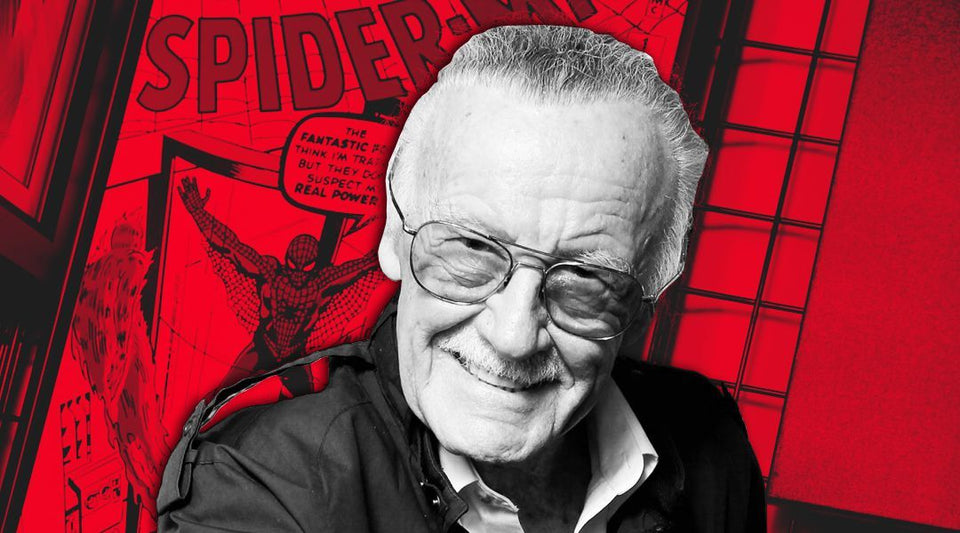 Stan Lee And Spiderman Comic Diamond Painting Kit - DIY