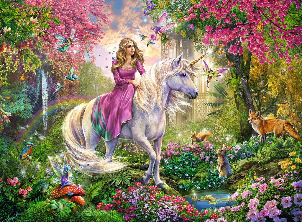 Unicorn Diamond Painting Kit - DIY Unicorn-19