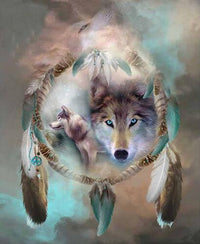 Wolf Magic Diamond Painting Kit - DIY