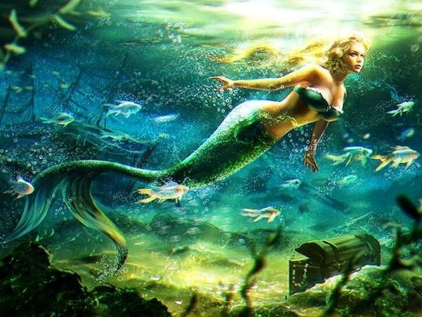 Mermaid Swimming Diamond Painting Kit - DIY
