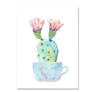 Plant Cactus II Diamond Painting Kit - DIY