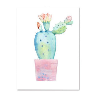 Plant Cactus III Diamond Painting Kit - DIY