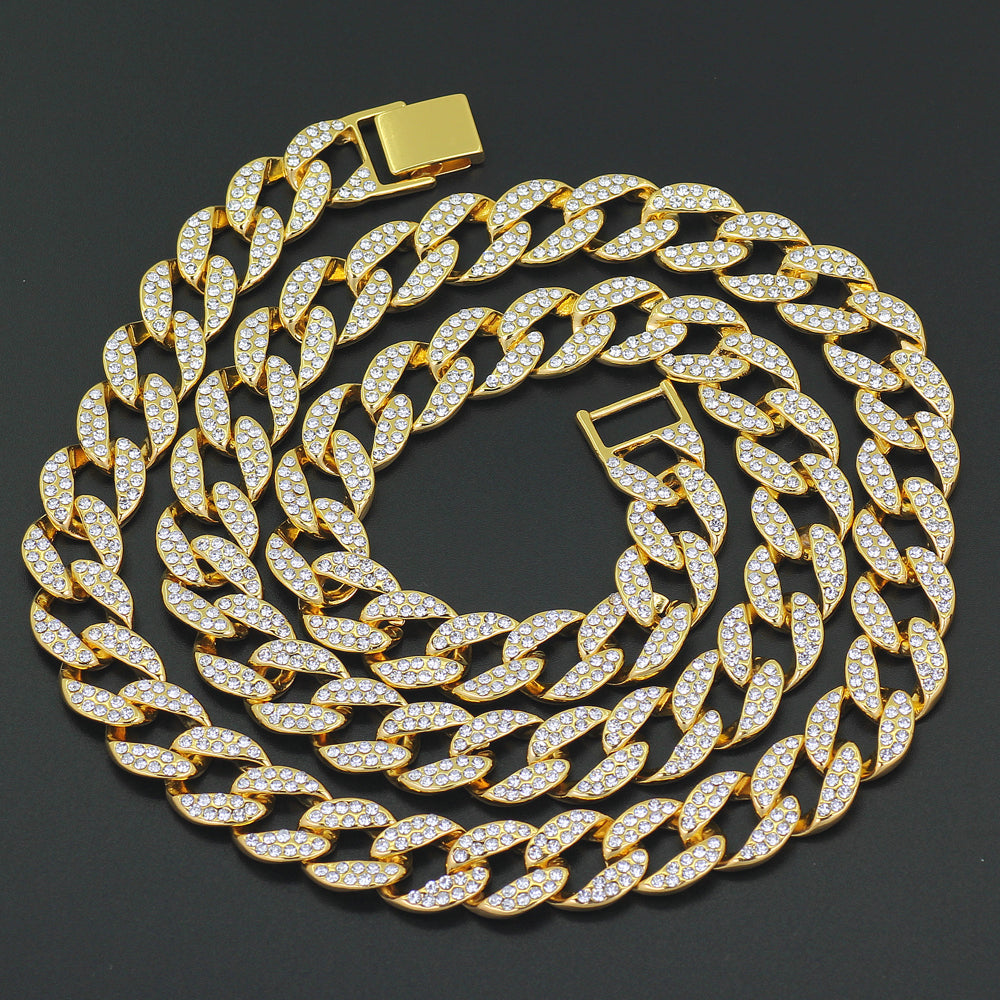 f922d8ffd7986 Iced Out Cuban Link Chain Necklace