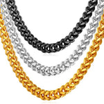 Mens Franco Chain Necklace (6 mm)