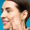14K Gold Stud Earrings for Women