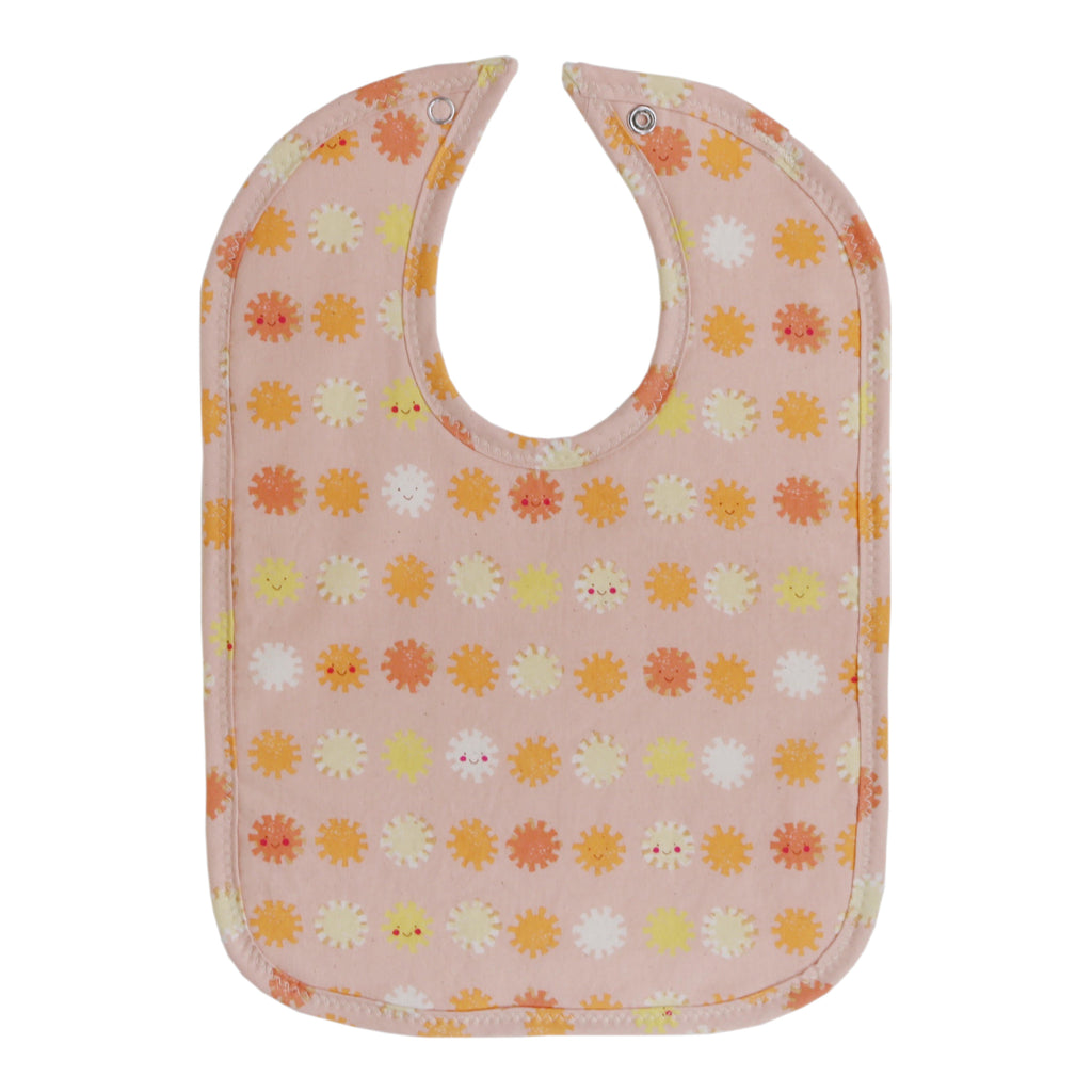 Happy Suns Bib