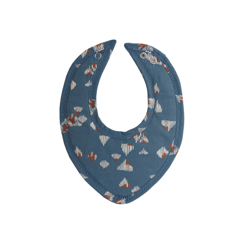 Snowy Mountains Drool Bib