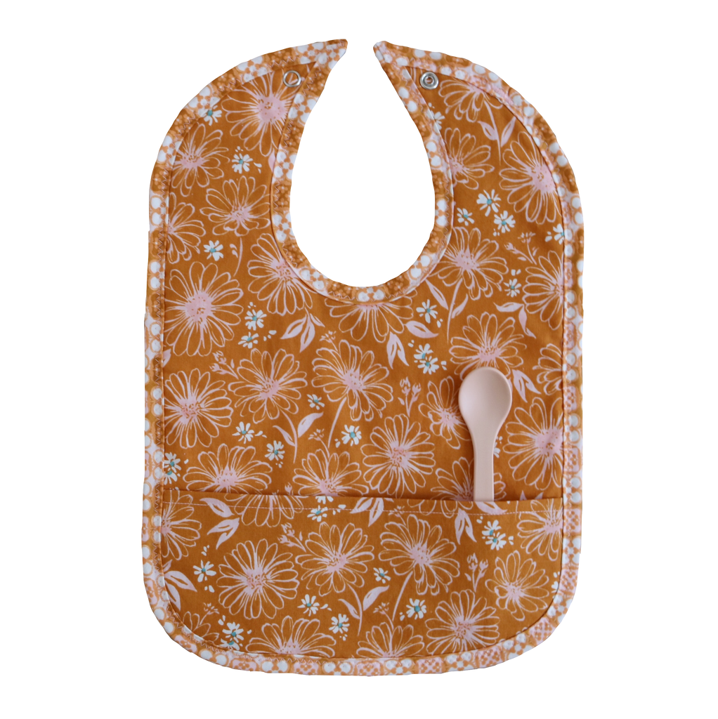 Wildflowers Pocket Bib