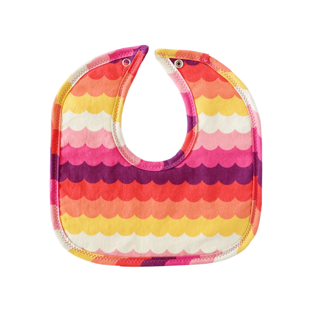 Sunset Waves Mini Bib
