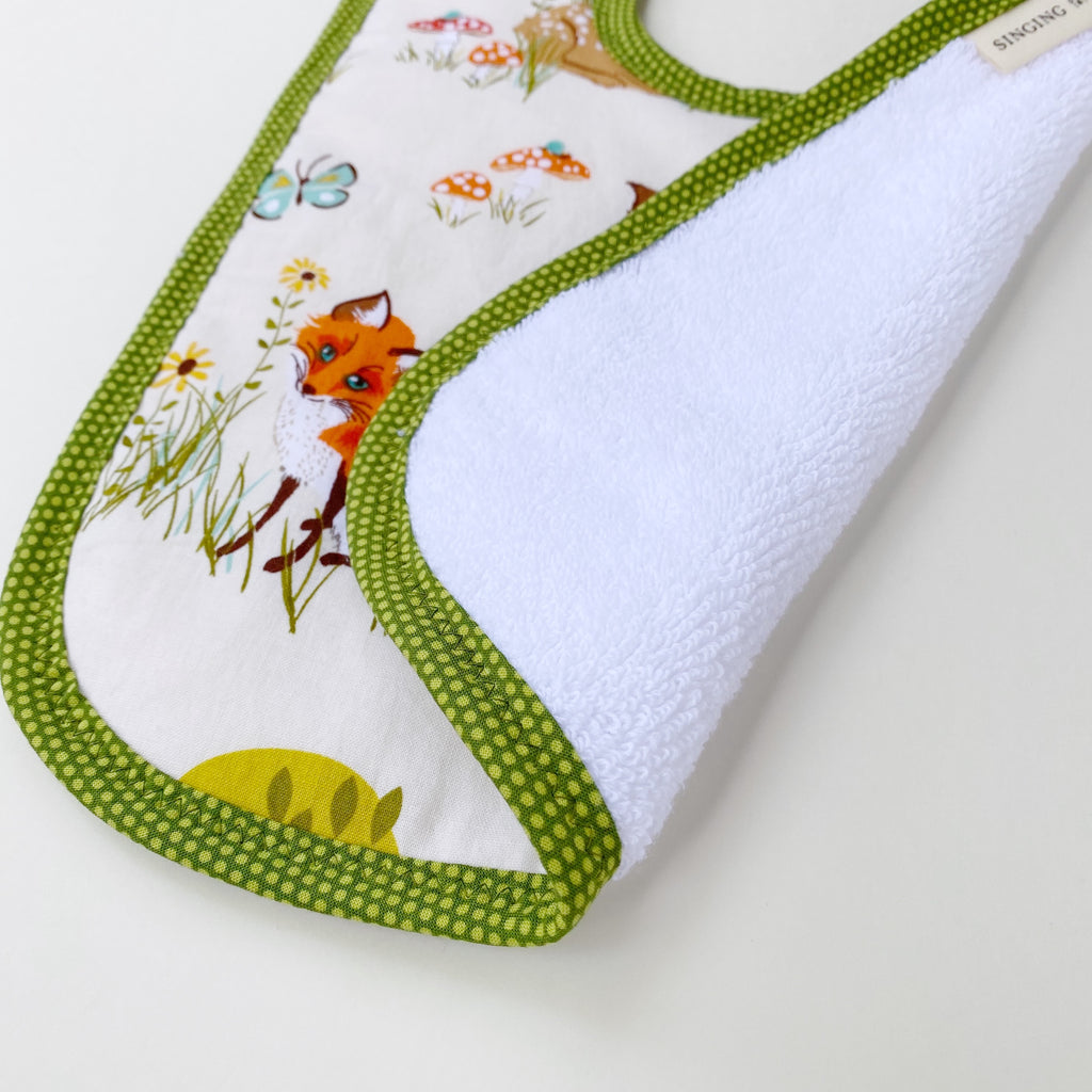 Woodland Animals Bib