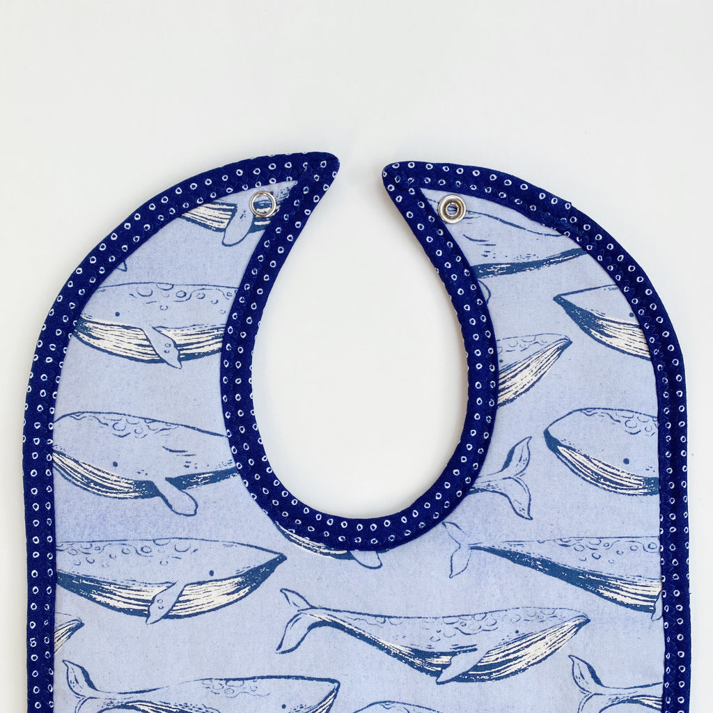 Swimming With Whales Bib