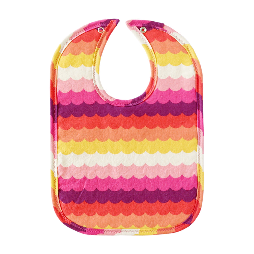 Sunset Waves Bib