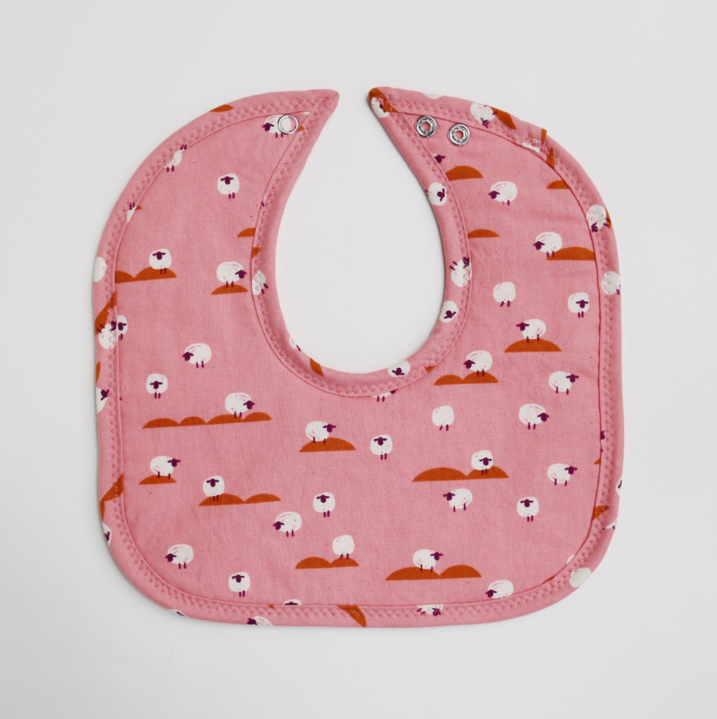 Sheep in Wonderland Mini Bib