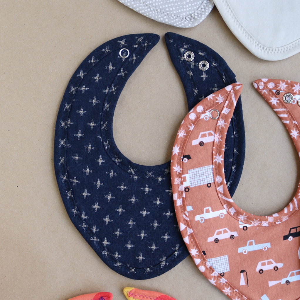 Indigo Crossing Drool Bib