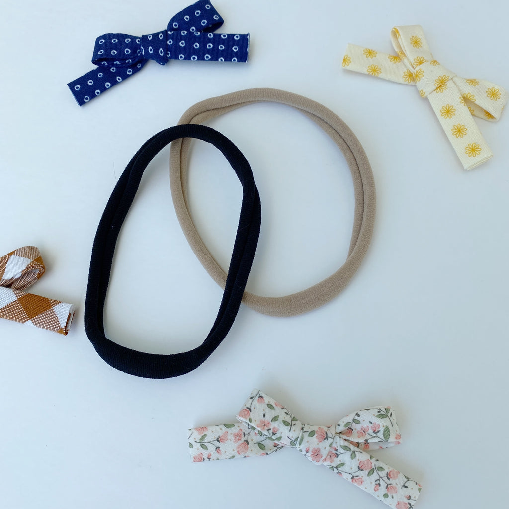 *NEW* Bows that Match Bibs