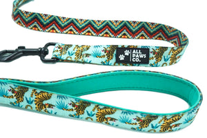 Crouching Tiger Padded Leash