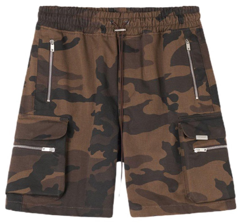 REPRESENT MILITARY SHORTS - BROWN CAMO