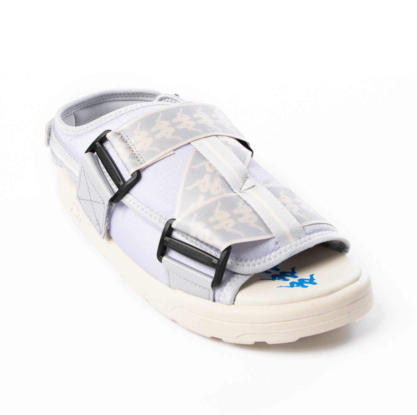 KAPPA- 222 BANDA MITEL 2 SANDALS - GREY WHITE BLUE