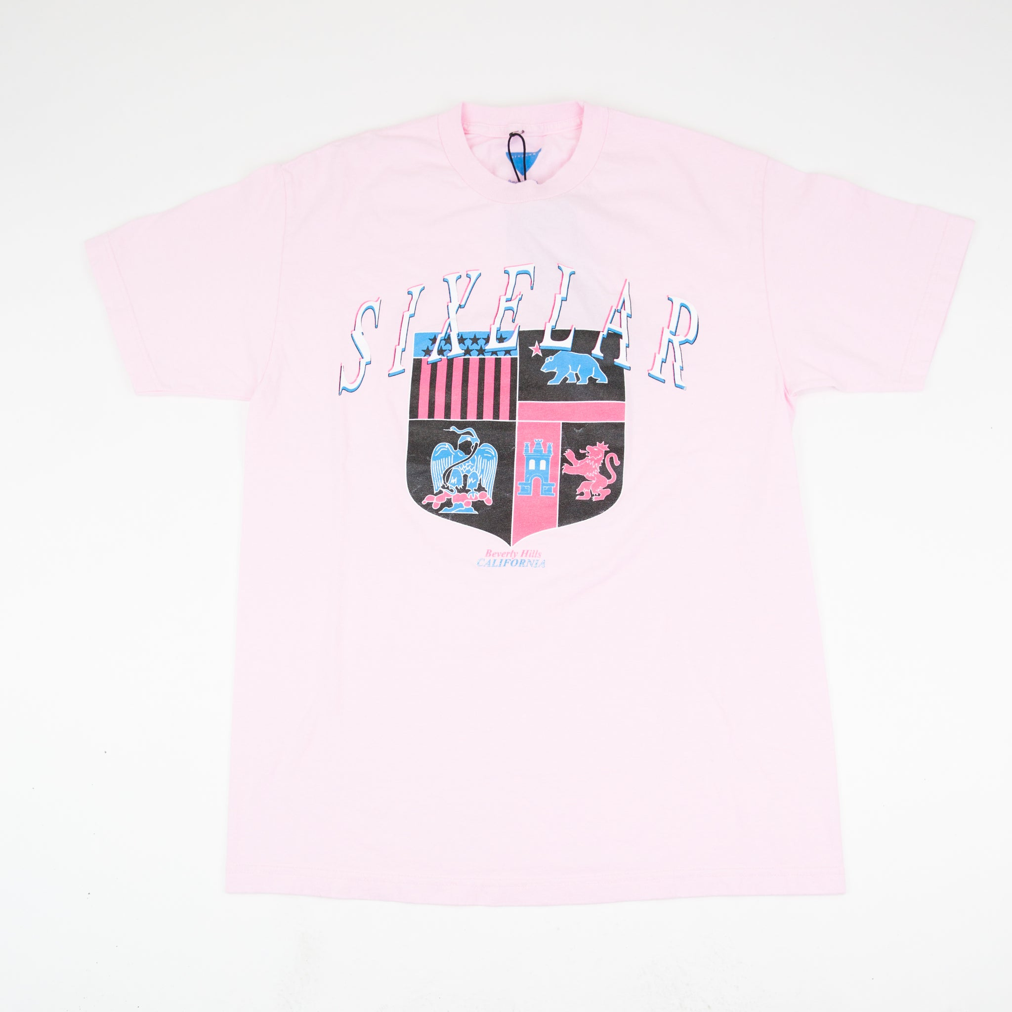 SIXELAR - Coat Of Arms Tee - Pink