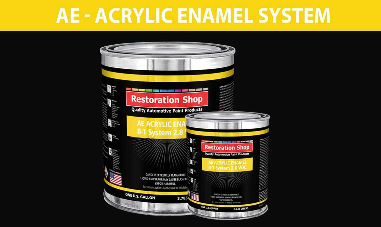 Restoration Shop OEM Paint Mix Type A